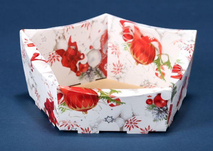 Kosze prezentowe z motywem świątecznym na Boże Narodzenie 7