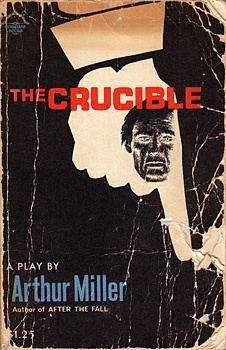 the idea of conscience in the crucible by arthur miller Miller's use of metaphor shows the coldness in relations between proctor and elizabeth, caused by abigail (quote) their personal relationship and the tensions between the three of them is the cause of much of the events in court.