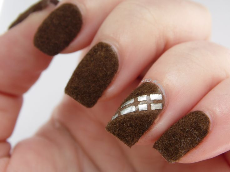 +10 Kapow: May the 4th be with you- Chewbacca Nails
