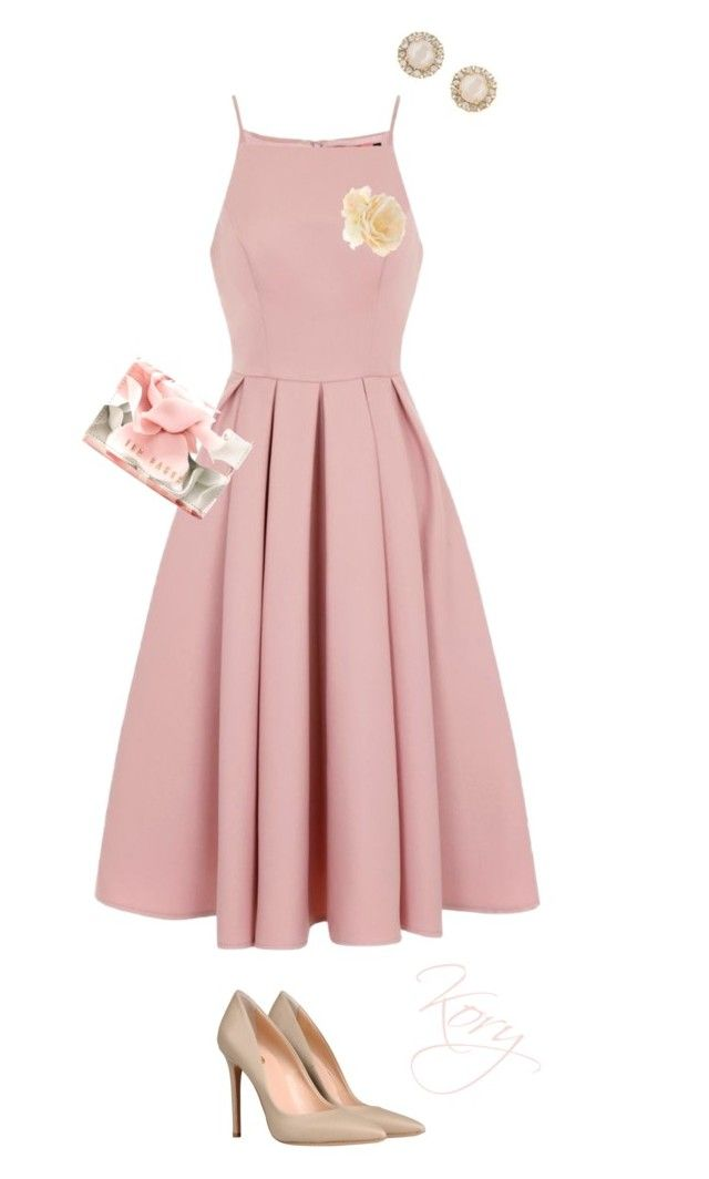 """@"" by cory84 on Polyvore featuring Chi Chi, 8, Accessorize, Ted Baker and Kate Spade"