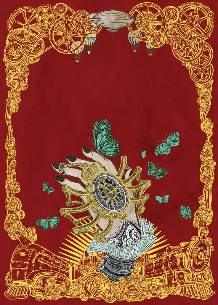 STEAMPUNK! book cover - Yuko Shimizu