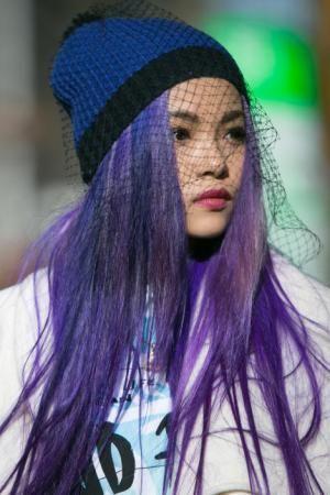 A/W 14/15 Paris Fashion Week: hair street shot analysis