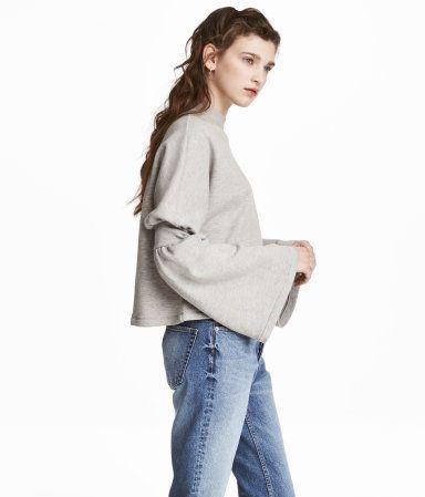Sweatshirt | Hellgraumeliert | Damen | H&M DE