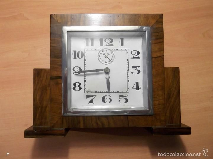 ANTIGUO RELOJ DE SOBREMESA ESTILO DECO PRINCIOS S. XX (Vintage - Relojes)