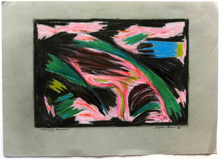 Wild weather can energise! Looking to change direction?  A #DaphneMason original for you http://www.saraban.co.nz/gallery/Abstract%2Bdrawings%2Bup%2Bto%2B%25241999/dm021-daphne-mason-changing-direction-1996/264830?utm_content=buffercad9d&utm_medium=social&utm_source=pinterest.com&utm_campaign=buffer