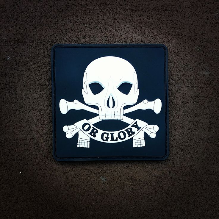 Death or Glory PVC morale patch