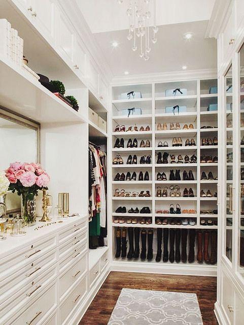 10 fotos de closets que todas soñaríamos con tener