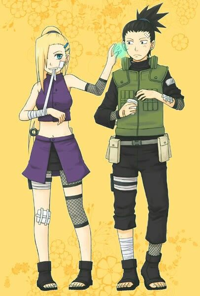 Shikamaru and Ino. / ShikaIno | Naruto shippuden ...