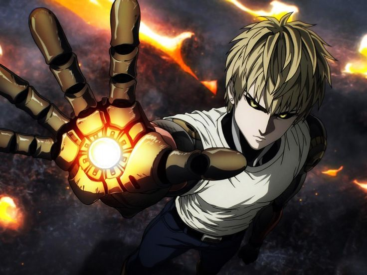 Genos One Punch Man Action-Comedy Anime HD Wallpaper