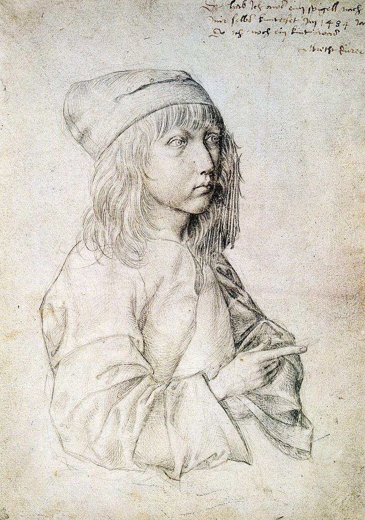 The Athenaeum - Self Portrait at 13 (Albrecht Dürer - 1484)