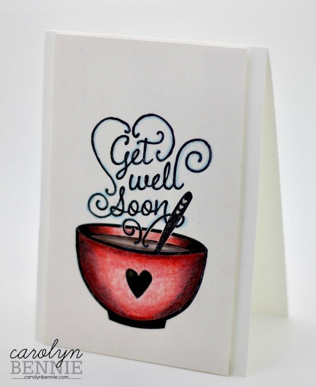 Get Well Soup - Retiring Stampin' Up! Stamps - Australian Stampin' Up! Demonstrator Carolyn Bennie carolynbennie.com