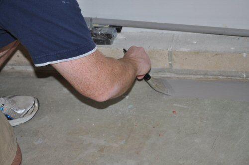 How to Paint an Epoxy Concrete Floor Coating (Quikrete Example)
