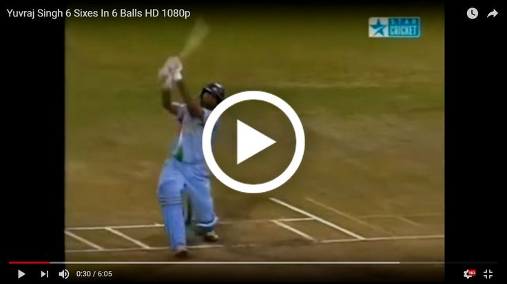 VIDEO: Yuvraj Singh Six Sixes HD vs England in WT20 2007