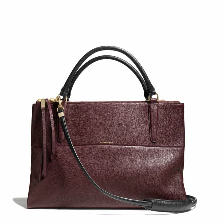The The Borough Bag In Pebbled Leather from Coach