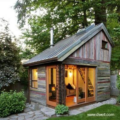 Las 25 mejores ideas sobre caba as de madera en pinterest - Casa pequena de madera ...