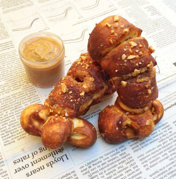 De nieuwste creatie van de cronut-koning: met pindakaas gevulde pretzels -