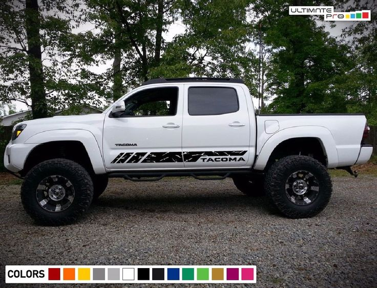 Decal Sticker Vinyl Stripe Kit For TOYOTA TACOMA 2004-2017 4x4 Door supercharger #ultimateprocy1ulti10deca15