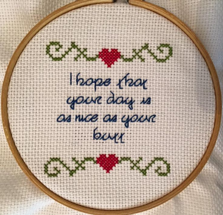 Cross-stitch ala Eddie and Gladys of Fool's Gold. Thank you, Chess C, for this fun #FoolsGoldSummer pic!