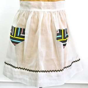 Sheer Spring Striped Apron, $39, now featured on Fab.
