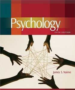 Psychology nairne 5th fifth edition 2011 hardcover brand new *no.