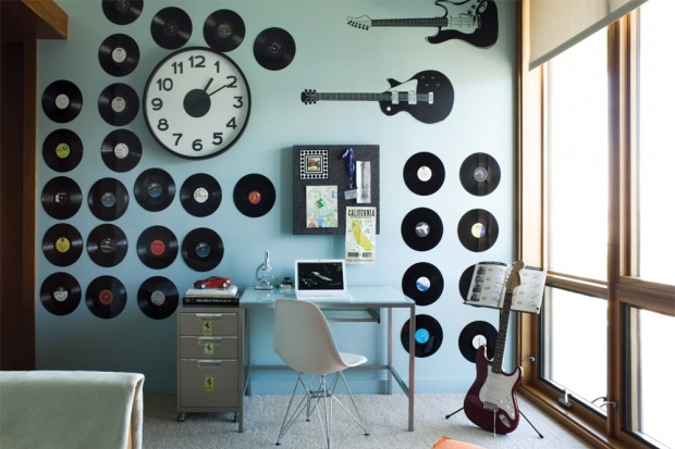 record room design - Google Search: Music Themed, Decorating Ideas, Google Search, Vinyl, House, Music Rooms, Boys Room, Design, Bedroom Ideas