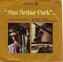 MacArthur Park (song) - Wikipedia, the free encyclopedia