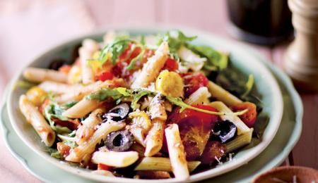 If this dish doesn't make you a penne fan, nothing will! The tomatoes are rich in a wonderful anti-oxidant called lycopene.