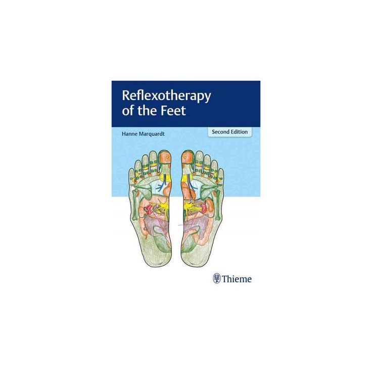 Reflexotherapy of the Feet (Hardcover) (Hanne Marquardt)