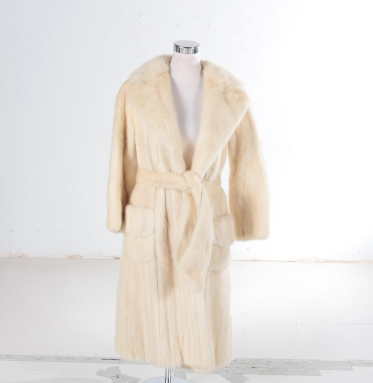 Vintage Revillon Mink Fur Coat