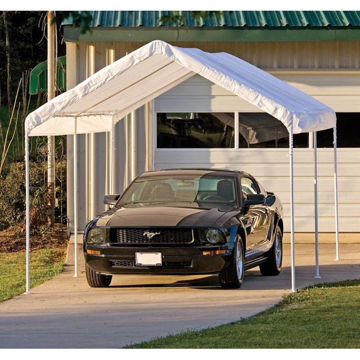 ShelterLogic 10 x 20 Deluxe All Purpose Canopy Carport