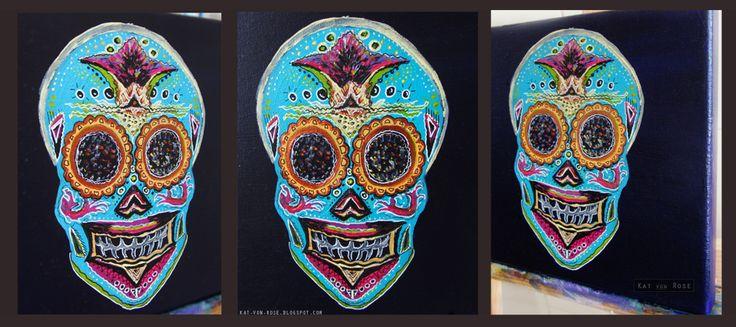 http://kat-von-rose.blogspot.com/2013/10/halloween.html  #kat von rose #paintings #blog #halloween