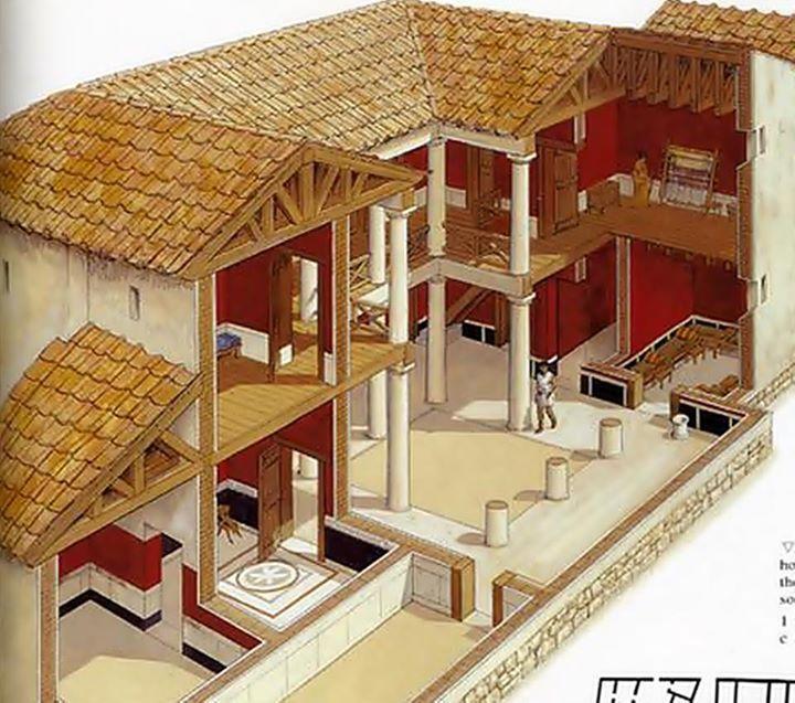 Ancient Greek House Design Ancient Greek Architecture Roman House Greek House