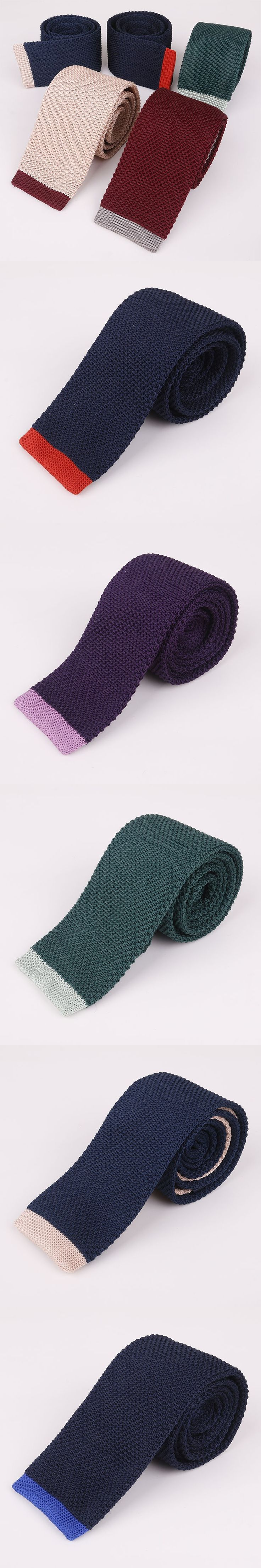 Mantieqingway Men's Suits Knitted Ties for Wedding Skinny Knitting Necktie Male Suits Woven Vestidos of Corbatas Collar Tie