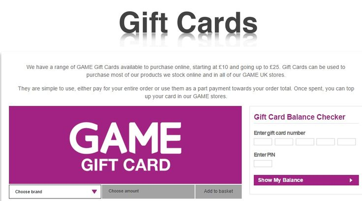 Honestly, We have a range of GAME Gift Cards available to purchase online.I think you might be happy to get better gift card.