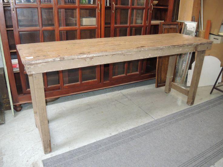 Consolle in legno di teak proveninza india
