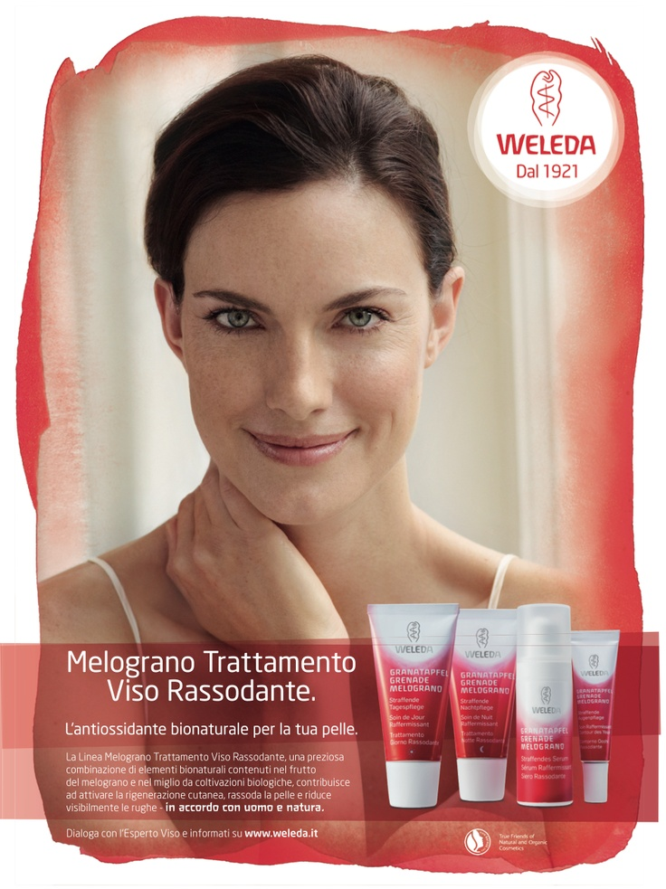 Unusual per Weleda trattamento viso melograno