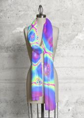 Modal Scarf - Rainbow Splash by VIDA VIDA TzPzN