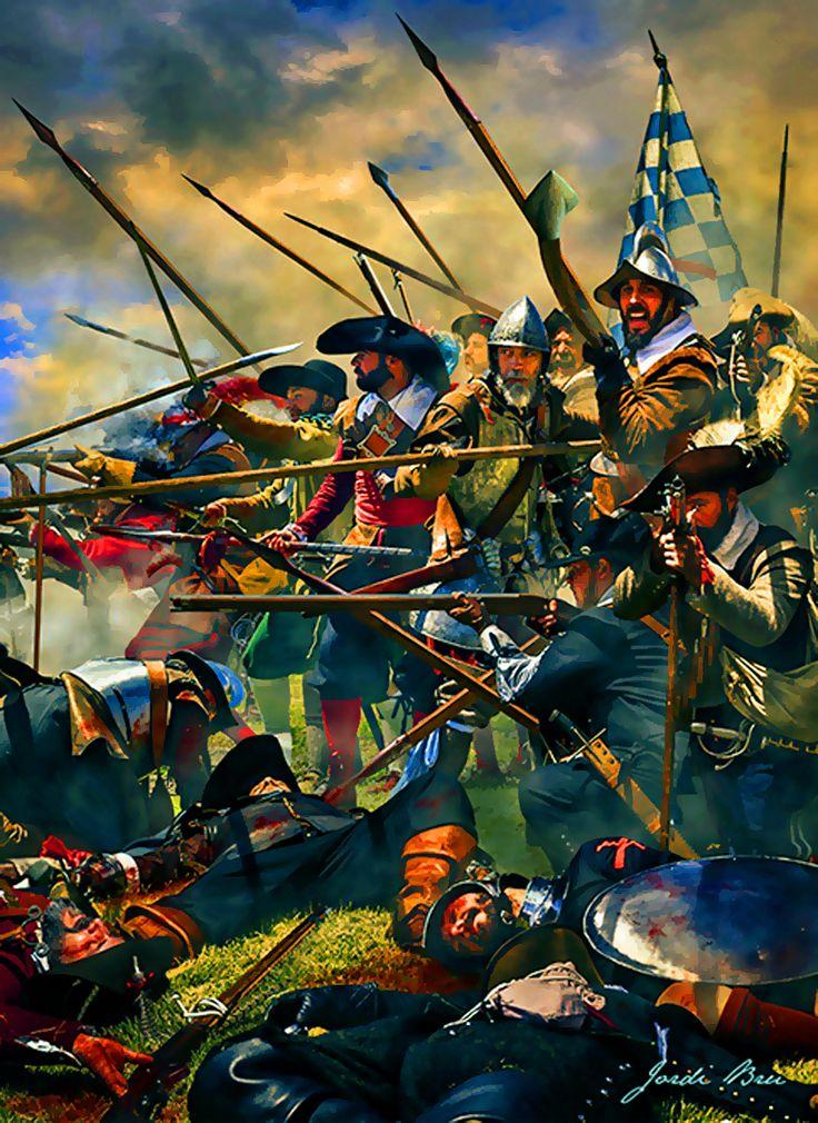 Imperial Tercios in battle, Thirty Years War