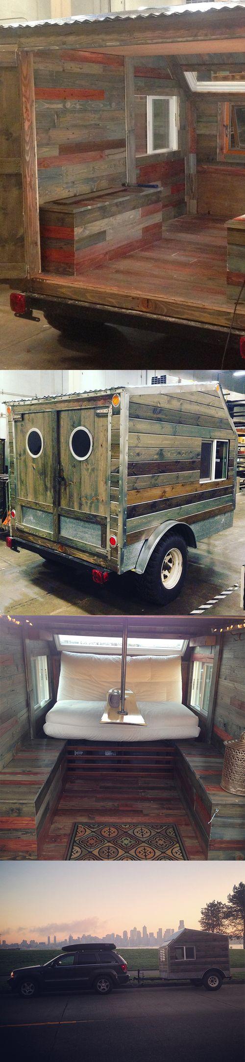 Simple DIY Camper Trailer DIY Cargo Trailer Camper Conversion Diy Tiny Homes