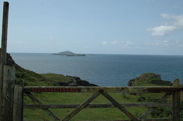 Isle of Mull, Scotland - Treshnish Point, view out towards the Treshnish Isles