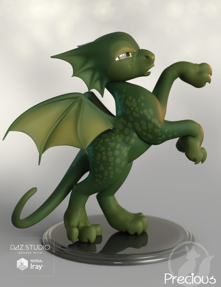 Epic Precious Dragon D Models and D Software by Daz D