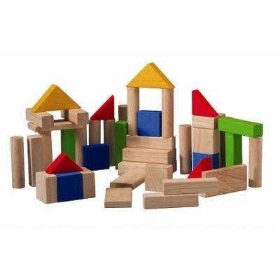 Contine 36 cuburi de lemn culoare natur, si alte 14 cuburi colorate. Acest set va stimula imaginatia, procesul de gandire si creativitatea copilului. Jucarie ecologica, fabricata din lemn de arbore de cauciuc. Culorile sunt obtinute din produse naturale, pe baza de apa, netoxice. Jucarii imbinate cu adezivi fara formaldehide, deci nu emană compuşi organici volatili nocivi pentru sănătatea umană
