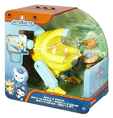 Inspired by the frogfish and featuring automatic transformation capabilities the Octonauts' gup-u is a suitable vehicle for a variety of rescue missions. This agile Gup can quickly race forward and t...