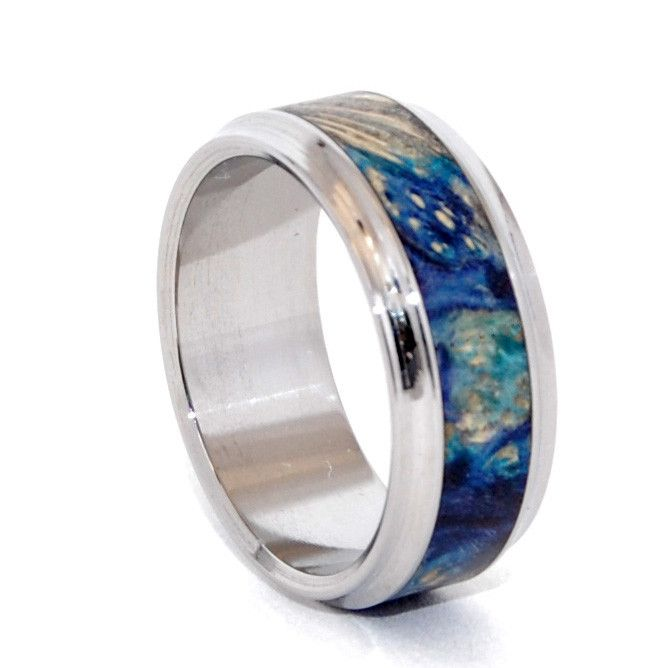 1000 Ideas About Mens Titanium Wedding Bands On Pinterest