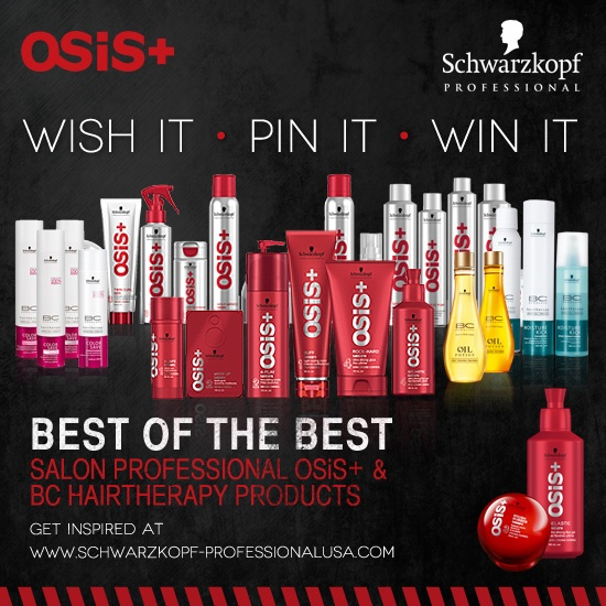 #SchwarzkopfProfessional #WishitPinitWinit I would very much would love to win all of these products! I've been using some of the Osis and Bonacure products for like over ten years and I love them sooo much!! <3