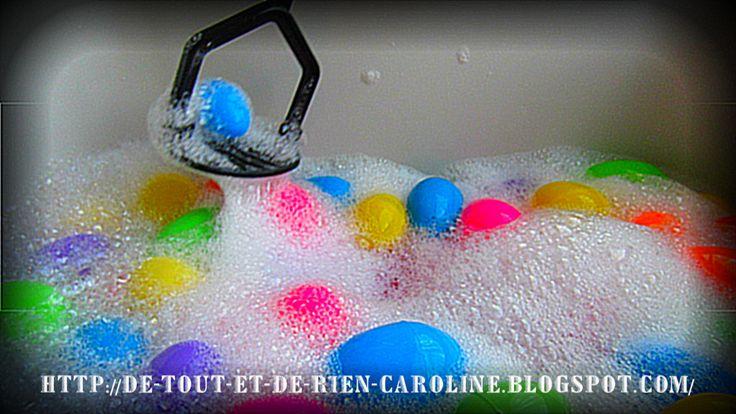 De tout et de rien: Activités pour le Préscolaire: Table d'eau sous le thème de Pâques. Egg-cellent!