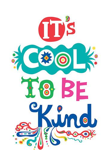#Poster>> It's cool to be kind ~ #quote #taolife - The Art Of Life Studio