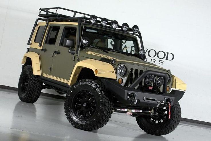 Jeep Wrangler Rubicon Army Military Green Google Search