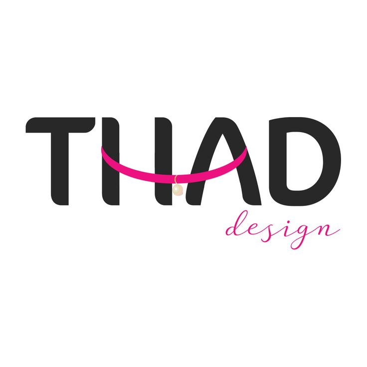Our new logo! What do you think?  #logo #thaddesign #handmade #jewelry