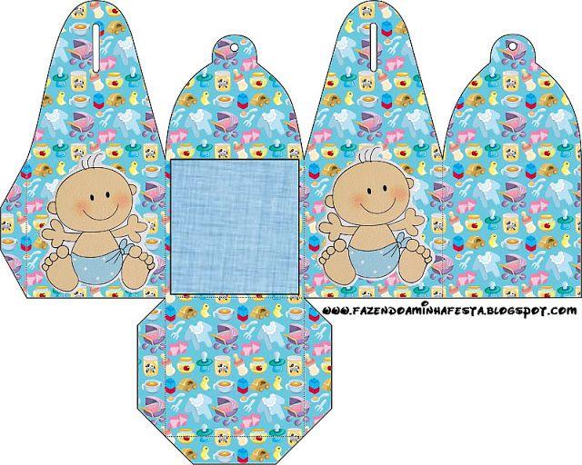 Cajitas de bebés para imprimir gratis.